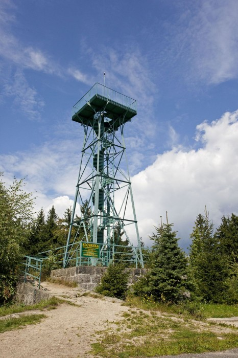Towers - Jizera mountains - Janov nad Nisou - Slovanka lookout tower